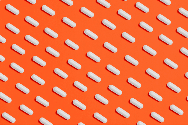 Abstract image of pills