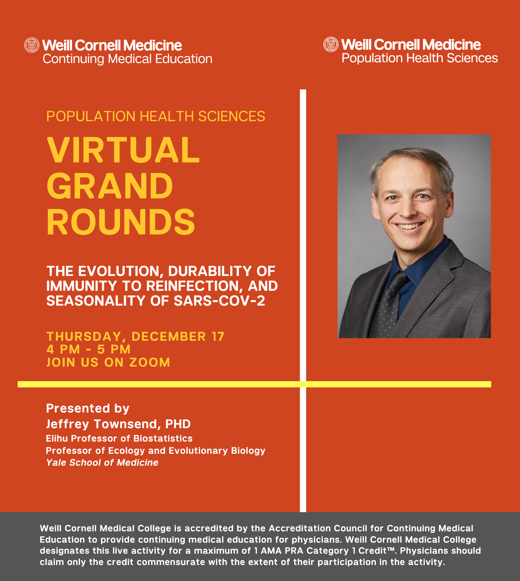 Townsend Grand Rounds Flyer