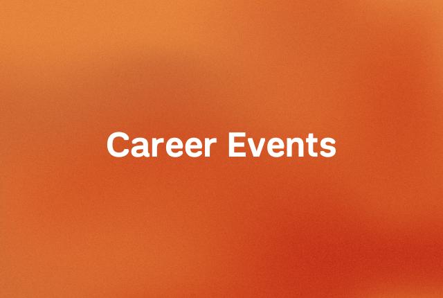 Career events block