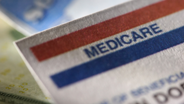 Image of a Medicare card