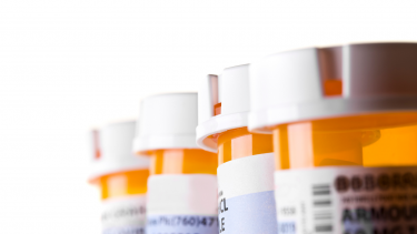 Photo of prescription bottles